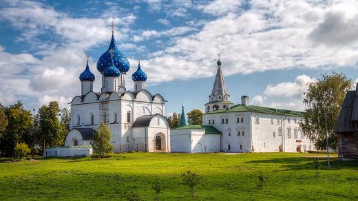Город Суздаль и его жители признаны самыми гостеприимными в стране