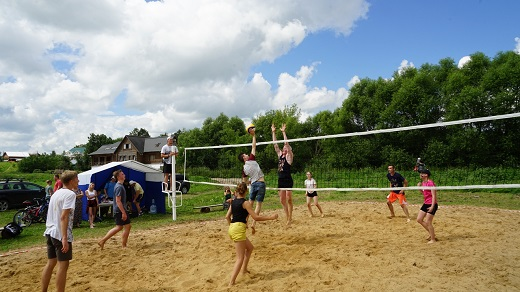 Спортивный праздник, посвященный «Дню огурца».