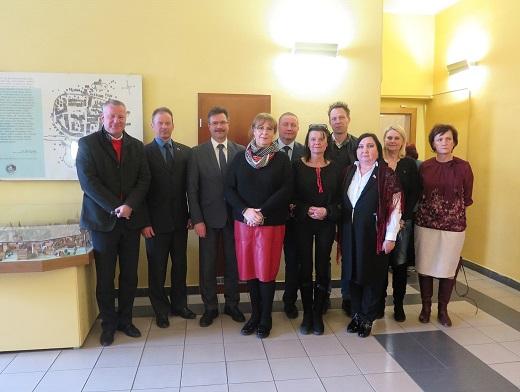 Визит делегации администрации в Чехию